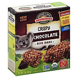 Nature's Path Organic EnviroKidz Chocolate Crispy Rice Cereal Bars,6 CT