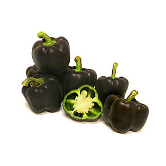Fresh Purple Bell Peppers,EACH