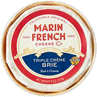 Rouge et Noir Triple Crème Brie, 8 oz