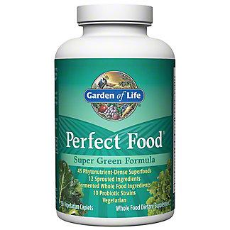 Garden of Life Perfect Food Super Green Formula Caplets, 150 CT