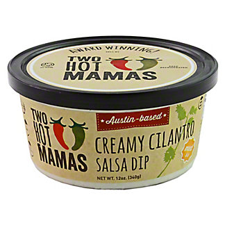 Two Hot Mamas Creamy Cilantro Salsa Dip, 12 OZ