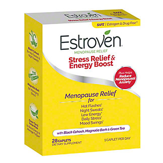 Estroven Maximum Strength Multi-Symptom Menopause Relief Caplets, 28 ct