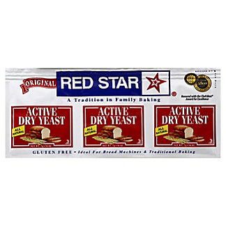 Red Star Active Dry Yeast, 0.25 oz