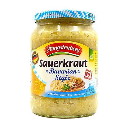 Hengstenberg Bavarian Style Sauerkraut with Wine, 24.3 oz