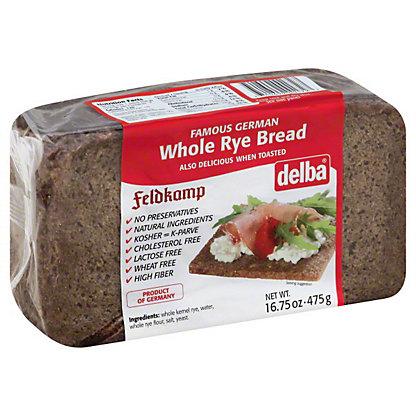 Delba Whole Rye Bread,16.75 OZ