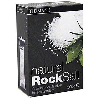 Tidman's Natural Coarse Rock Salt, 17.6 Z