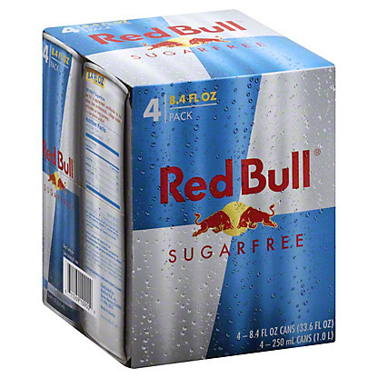Red Bull Red Bull Sugar Free Energy Drink,4 - 8.4 OZ