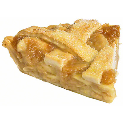 Central Market Apple Pie Slice, ea