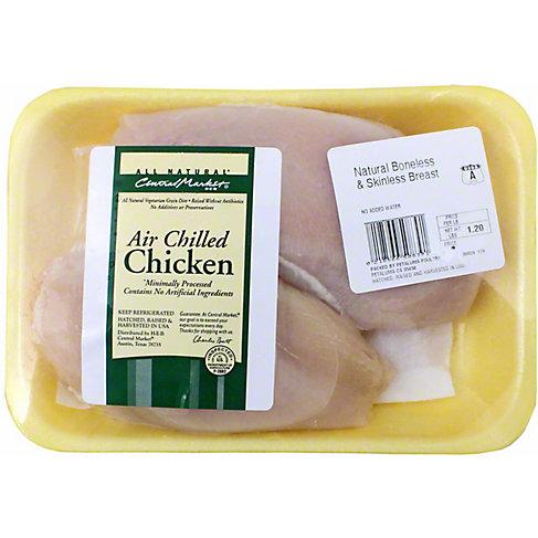 Central Market Air Chilled Boneless Skinless Chicken Breast