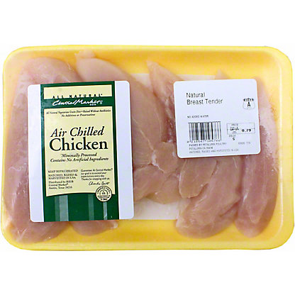 Central Market Natural Air Chilled Chicken Breast Tenders,LB