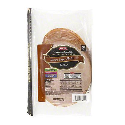 H-E-B Brown Sugar Ham Slices,8 OZ