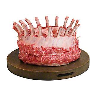 Natural Pork Center Rib Rack Crown Roast