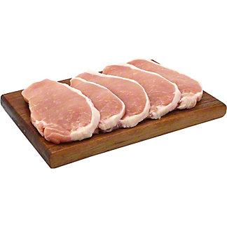 Central Market Natural Pork Boneless Center Cut Thin Chop