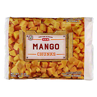 H-E-B H-E-B Mango Chunks (No Sugar Added),12.00 oz