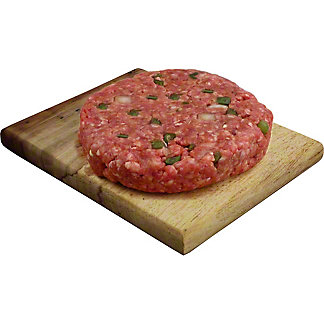 Fresh MILD HATCH HAMBURGER PATTY, LB