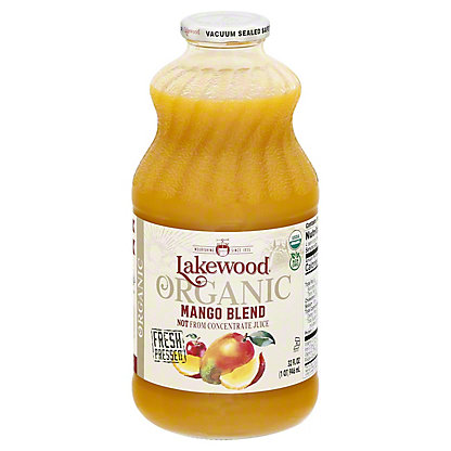 Lakewood Organic Fresh Blends Organic Mango Juice,32OZ
