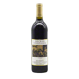 Becker Vineyards Reserve Cabernet Syrah,750 mL