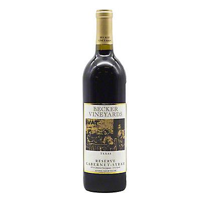 Becker Vineyards Reserve Cabernet Syrah,750 mL