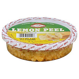 Paradise Diced Lemon Peel, 4 oz
