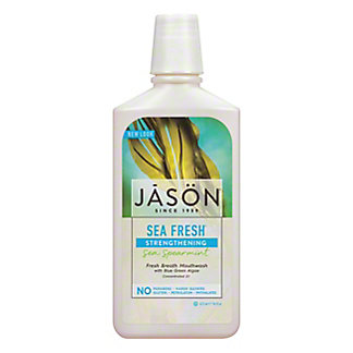 Jason Sea Fresh Strengthening Sea Spearmint Mouthwash,16 OZ
