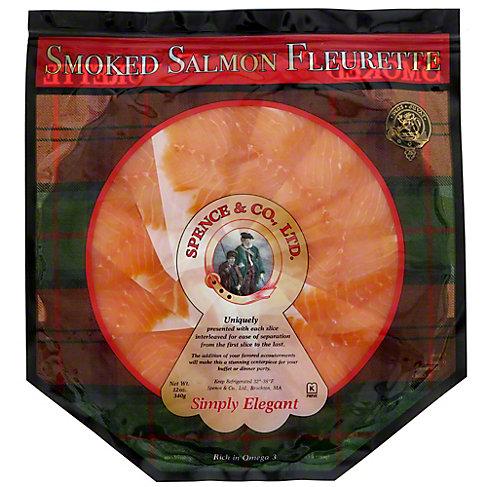 Spence & Co. Fleurette Smoked Salmon Platter, 12 oz