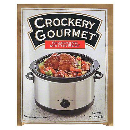 Crockery Gourmet Seasoning for Beef,2.5 oz