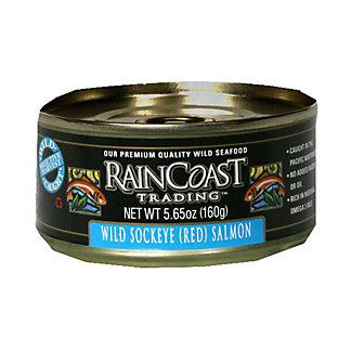 Raincoast Trading Wild Sockeye (Red) Salmon,6.4 OZ