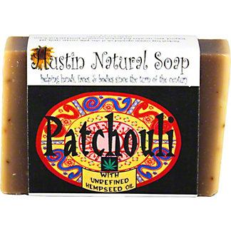 Austin Natural Soap Patchouli, 4.5 oz