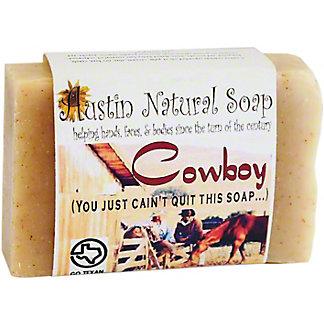 Austin Natural Soap Silicon Cowboy, 4.5 oz