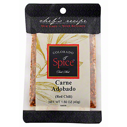 Colorado Spice Chef's Recipe Colorado Spice Carne Adobado, 1.50 oz