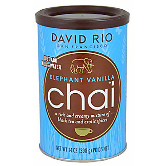 David Rio Elephant Vanilla Chai,14.00 oz
