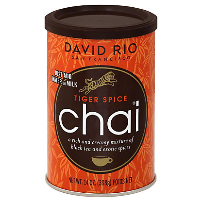 David Rio Tiger Spice Chai Tea,14.00 oz