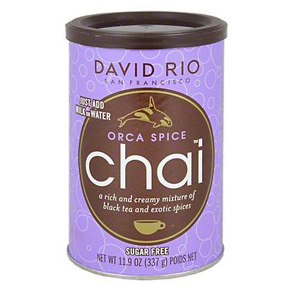 David Rio Orca Spice Chai Sugar Free, 11.9OZ