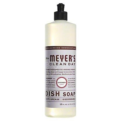 Mrs. Meyer's Clean Day Lavender Scent Liquid Dish Soap,16 OZ