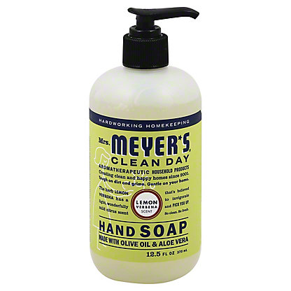 Mrs. Meyer's Clean Day Liquid Hand Soap, Lemon Verbena,12.5 OZ