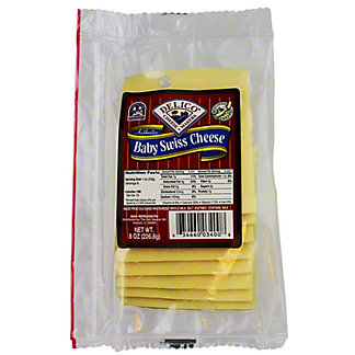 Delico Baby Swiss Cheese,8 OZ
