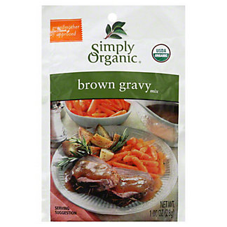 Simply Organic Organic Brown Gravy Mix,1.2 OZ