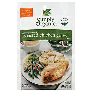 Simply Organic Roasted Chicken Gravy Mix, 0.85 oz