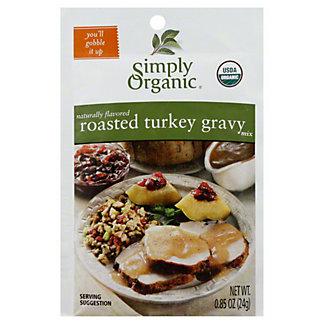 Simply Organic Organic Roasted Turkey Gravy,.85 OZ