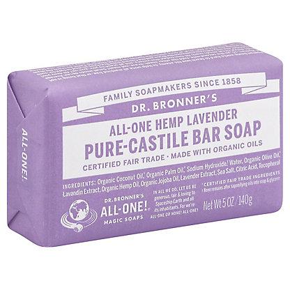 Dr. Bronner's Magic Soaps All-One Hemp Lavender Pure-Castile Soap,5 OZ
