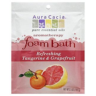 Aura Cacia Tangerine & Grapefruit Foam Bath, 2.5 OZ