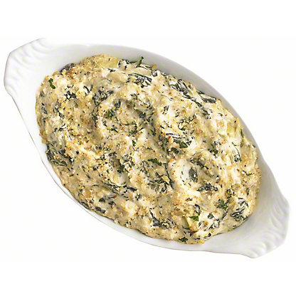 Spinach Artichoke Dip, Serves 6-8