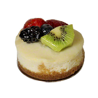 Central Market Mini Cheesecake Topped with Fruit,EACH