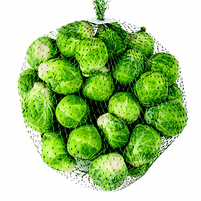 Fresh Brussel Sprouts Bag,each