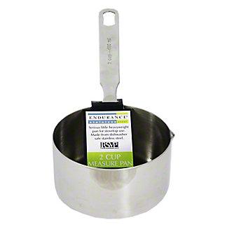 RSVP Measuring Pan/2 Cup Stove Top Safe, 1EA