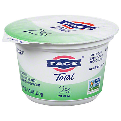 Fage Total 2% Plain Greek Yogurt, 7 oz
