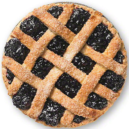 Central Market Wild Maine Blueberry Pie, Serves 8-10