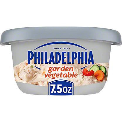 Kraft Philadelphia Garden Vegetable Cream Cheese Spread, 7.5 oz