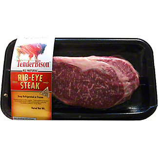 Fresh Bison Ribeye Boneless