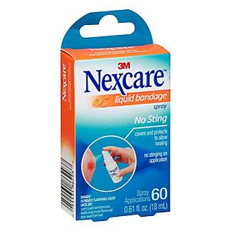 Nexcare No Sting Liquid Bandage Spray, .61 oz